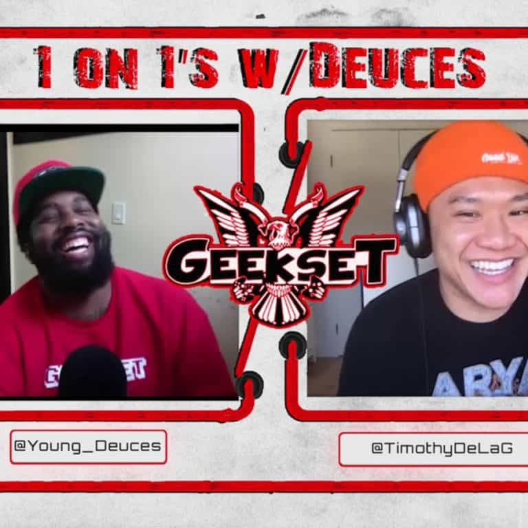 1 on 1's w/Deuces Episode 4: Timothy DelaGhetto Interview