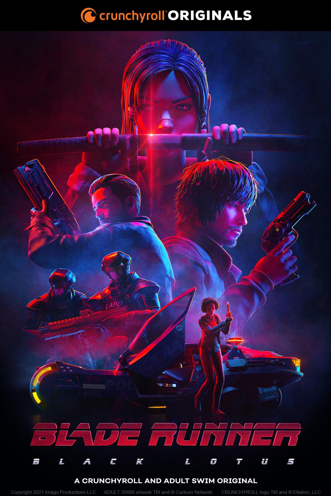 Blade Runner_ Black Lotus Key Visual 2x3