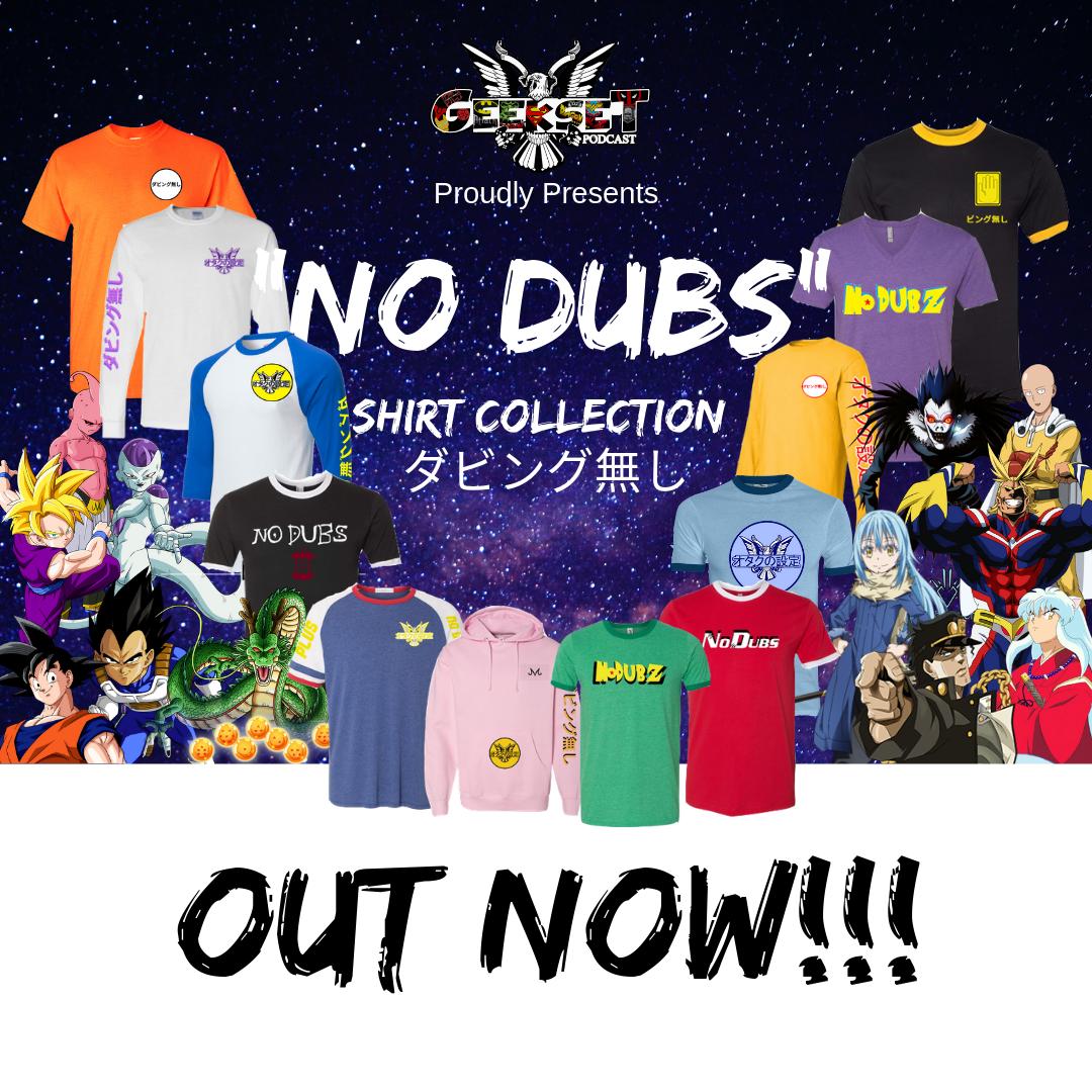 all shirts No dubs